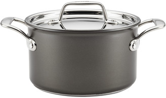 Meyer Breville Thermo Pro Hard Anodized 4Qt Covered Saucepan