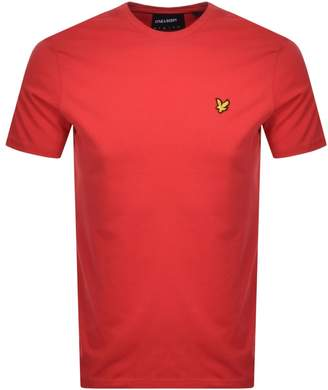 Lyle & Scott Crew Neck T Shirt Red