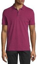Armani Collezioni Piqué Polo Shirt, Raspberry