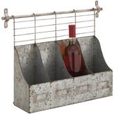 Cole & Grey 4 Bottle Wall Mounted Wine Rack