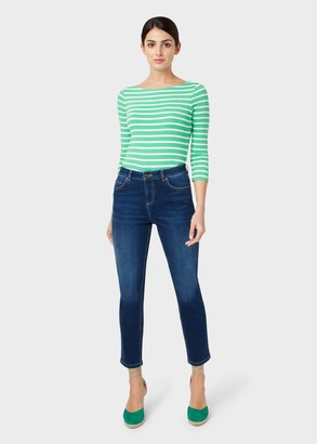 Hobbs Belle Denim Straight Jeans With Stretch