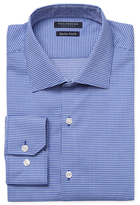 Tailorbyrd Spread Collar Printed Dress Shirt