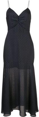 Alexis Nizarra polka-dot flared dress