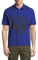 Moschino Pique Polo Shirt with Tonal Logo