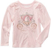 Epic Threads Mix and Match Long-Sleeve Glitter-Graphic T-Shirt, Little Girls (4-6X), Created for Macy's