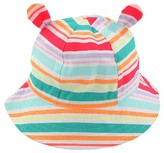 Cat & Jack Baby Girls' Striped Bucket Hat with Ears