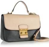Miu Miu Madras textured-leather shoulder bag