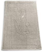 Lacoste Solid Croc Tub Mat