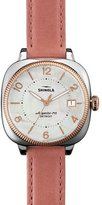 Shinola 36mm Gomelsky Two-Tone Watch, Pink