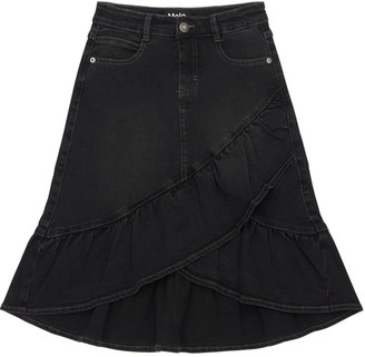 Molo Stretch Denim Skirt