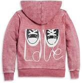 Vintage Havana Girls' Sneakers Love Fleece Hoodie - Big Kid