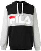 Fila print hoodie - men - Cotton/Polyester - S