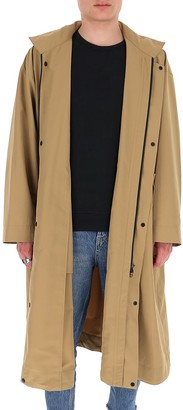 Homme Plissé Issey Miyake Single Breasted Coat