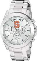 Game Time Women's COL-TBY-SYR Knock-Out Analog Display Japanese Quartz Silver Watch
