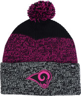 '47 Los Angeles Rams Static Cuff Pom Knit Hat