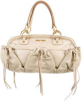 Miu Miu Leather Frame Satchel