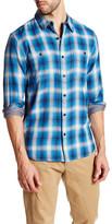 Lucky Brand Plaid Workwear Woven Long Sleeve Regular Fit Shirt