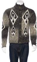 Just Cavalli Wool Seed Knit Cardigan