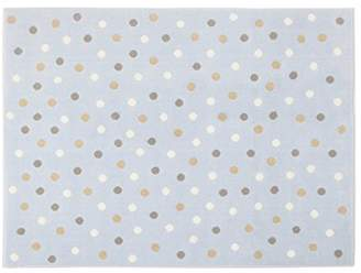Lorena Canals Dots Acrylic Rug (Blue/Multicolour)