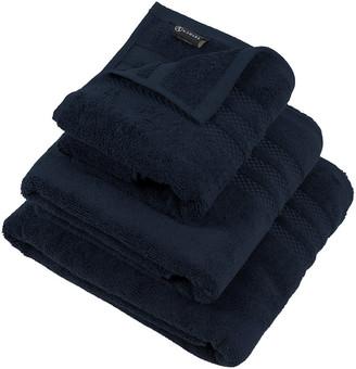 A By Amara A by Amara - Egyptian Cotton Towel - Navy - Face Cloths - Set of 3