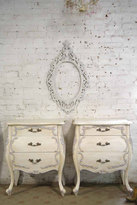 Etsy Painted Cottage Chic Shabby Romantic French Bombay Night Table