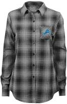 Juniors' Detroit Lions Dream Plaid Shirt
