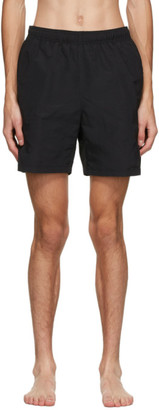 Stussy Black Stock Water Shorts