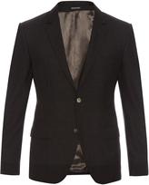 Alexander McQueen Micro-checked notch-lapel blazer