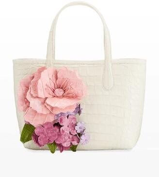 Nancy Gonzalez Limited Edition Erica Mini Flower Bomb Tote Bag