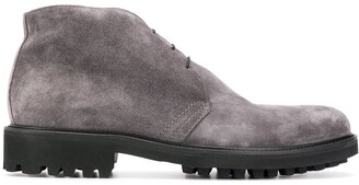Baldinini Ridged-Sole Desert Boots