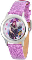 Disney Descendants Girls Purple Strap Watch-Wds000247