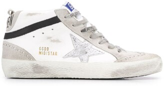 Golden Goose Mid Star high-top sneakers