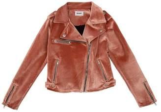 Hudson Jeans Nadia Velvet Moto Jacket (Big Girl)