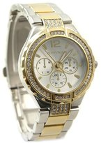 Alexis Fashion Watches for Women Crystal Gold Bracelet Watch - Water Resistant Analog Watches for Girls