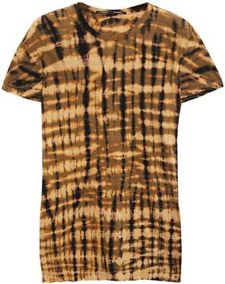 Proenza Schouler Tie-dyed Slub Cotton-jersey T-shirt