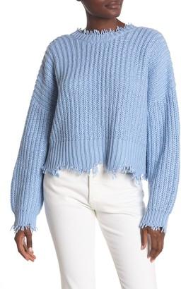 Wildfox Couture Deep V-Back Palmetto Sweater