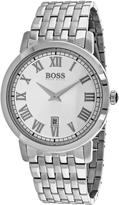 HUGO BOSS Classic 1513143 Men's Round Silver Stainless Steel Watch