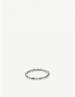 Kendra Scott Astrid 14ct white-gold and diamond ring