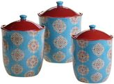 Certified International Spice Route 3-pc. Canister Set