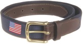 Vineyard Vines American Flags Canvas Club Belt Men's Belts