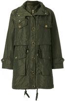 MICHAEL Michael Kors metallic button coat - women - Polyester - XS
