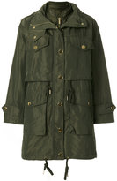 MICHAEL Michael Kors metallic button coat
