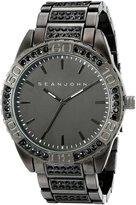 Sean John Men's 10021787 Sport Analog Display Analog Quartz Black Watch