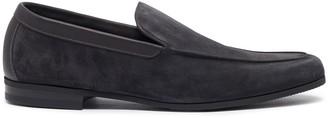 John Lobb 'Tyne' suede loafers