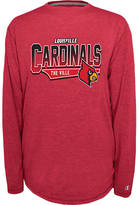 Finish Line Men's Louisville Cardinals College Earn It Long-Sleeve Shirt