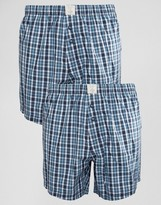 Esprit Woven 2 Pack Boxers in Regular Fit