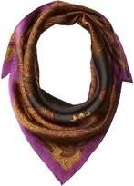 Lauren Ralph Lauren Paula Silk Square Scarf Scarves