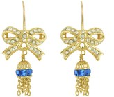 Juicy Couture Bow & Tassel Drop Earring