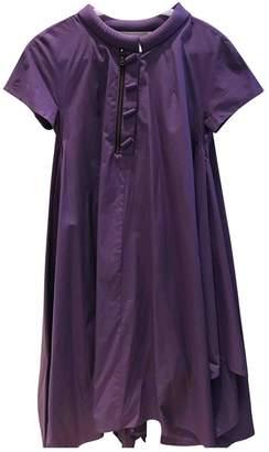 Albino \N Purple Cotton Dress for Women