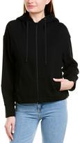 Vince Sherpa Hooded Zip-Up Hoodie
